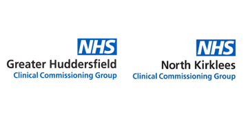 NHS Greater Huddersfield CCG and NHS North Kirklees CCG Careers logo