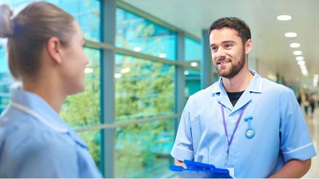 Record number of men applying for nursing courses following recruitment drive
